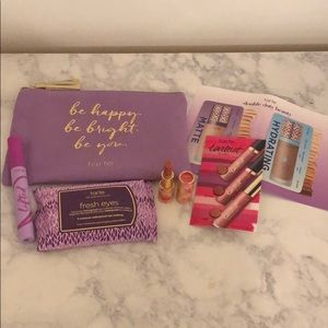 Tarte 6 piece Makeup Bundle Mascara Lip Stick